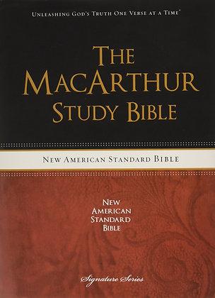 The MacArthur Study Bible byJohn F. MacArthur