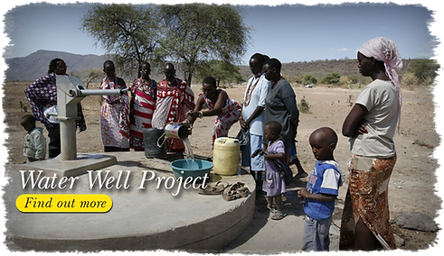 Africa water well, gloria leonard ministries