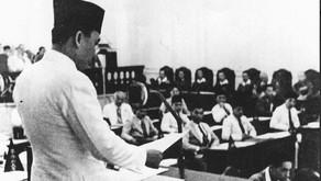 Bung Karno: Dasarnya Indonesia Merdeka Yang Kekal Abadi itu haruslah Pancasila