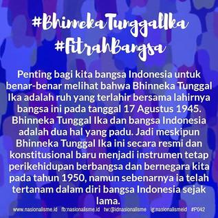Penting bagi kita bangsa Indonesia untuk