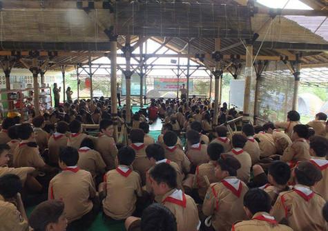 Sosialisasi Nasionalisme Indonesia - SMP Kristoforus
