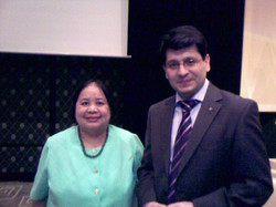 Her Excellency Basilio & MD