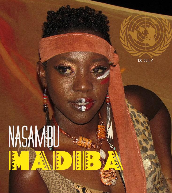 nasambu - Madiba Cover