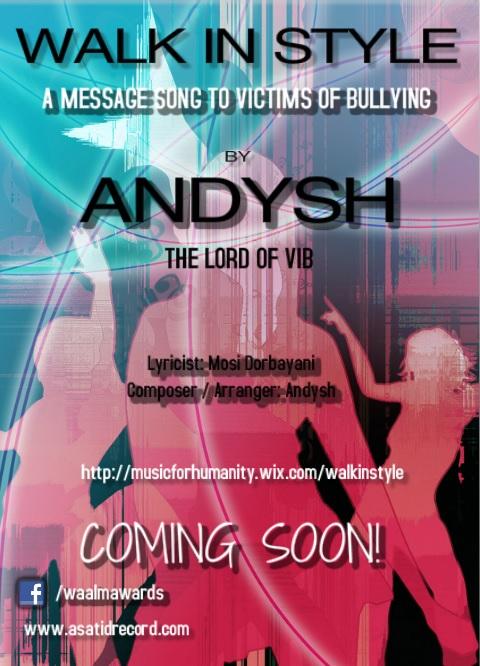 Andysh, Composer/Arranger/Singer