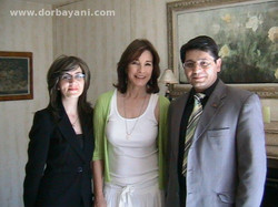 With Anne Archer Hollywood Actress