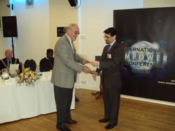 Mr Stoyel Ex President - Rotary & MD