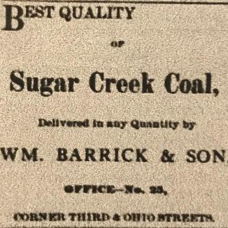 Coal Mining in Early Vigo County