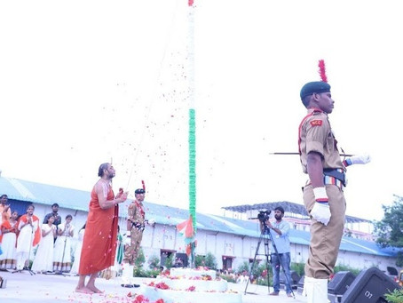 Our Tribute to Bharath on 75th Independence Day Celebrations