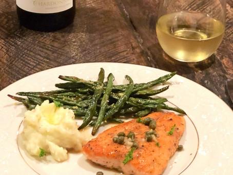Taste WA Week 2: Chardonnay & Salmon Piccata