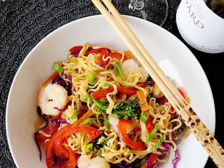 Taste WA Week 5: Riesling and Lo Mein
