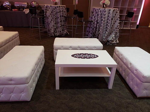 Classic White Table Rental