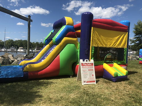 Inflatable Bounce House Combo Rentals