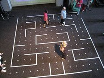 Giant Pacman Team Building Game Rental