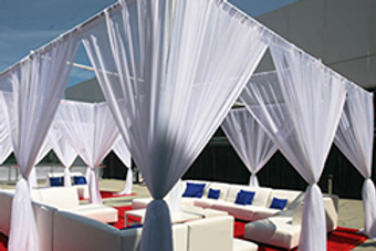 Pipe & Drape Decor Party Rental