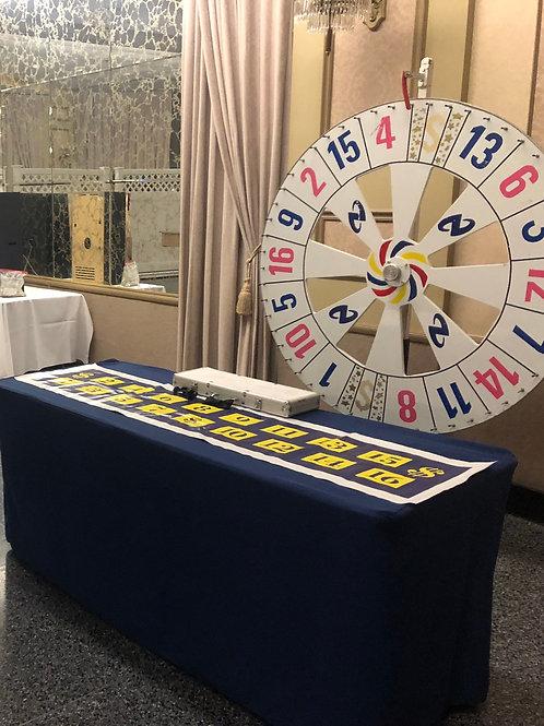 Money Wheel Rental