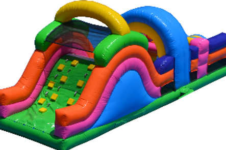 Inflatable Kids Obstacle Course 25'