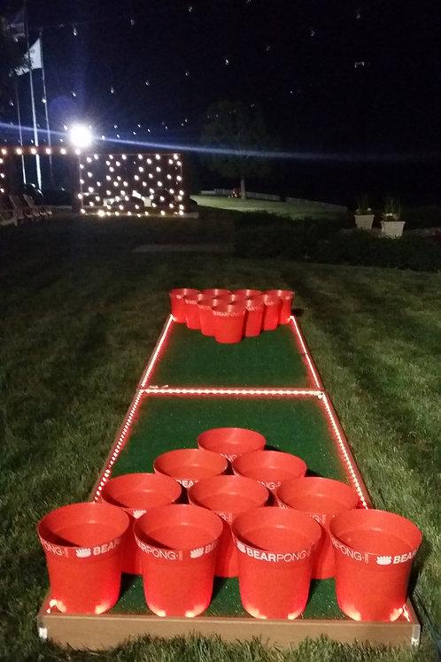 LED Beer Pong Game Rental