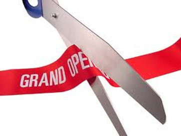 "36"" Giant Ceremonial Scissors Rental"