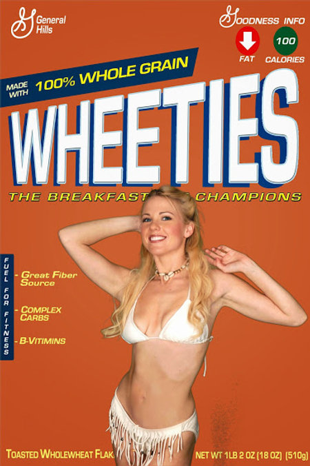 Wheaties Event Photo Novelty