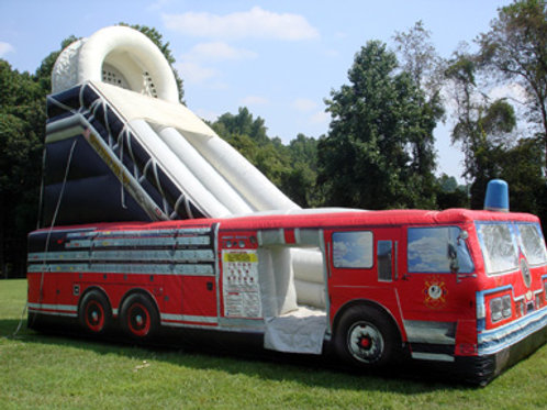 Inflatable Theme Slide Rental Firetruck
