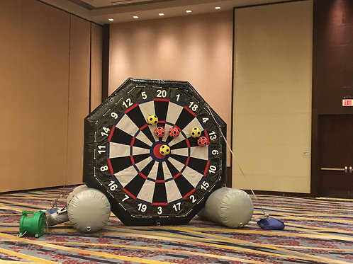 Giant Inflatable Soccer Dart Game Rentals