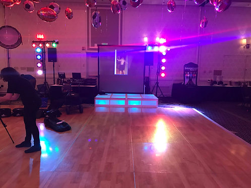 LED Dance Stage Rentals