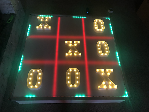 Giant LED Tic Tac Toe Game Rental