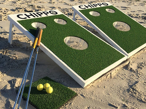 Golf Challenge Game Rental Chippo 3 Hole Carnival Game