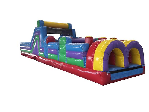 40' Inflatable Obstacle Course Rental