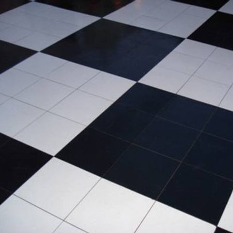 Black & White Dance Floor Party Rentals