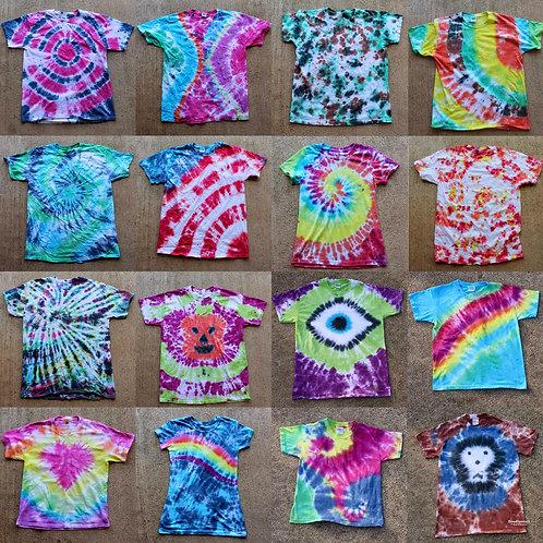 Tie Dye Tshirt Novelties For Rent