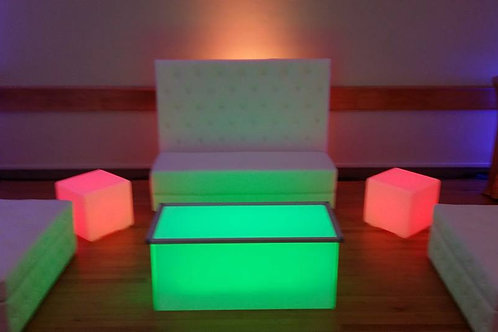 LED Coffee Table Rentals
