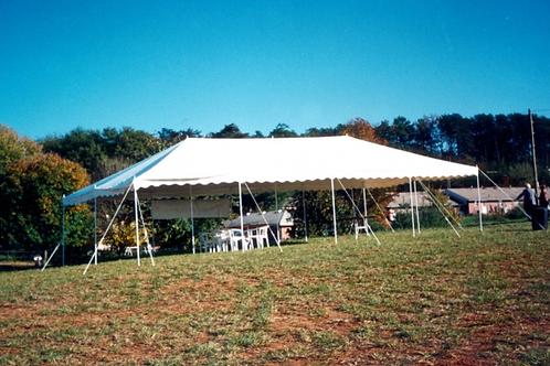 20 x 40 Pole Tent Rental