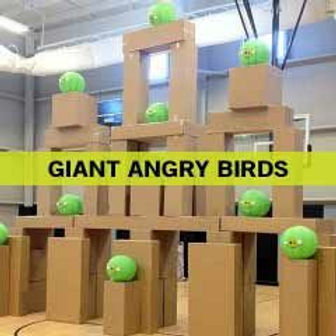 Giant Angry Birds Game Rentals