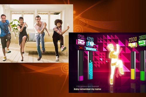 Just Dance Arcade Game Rental