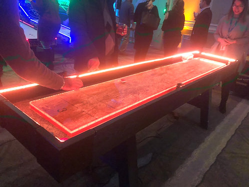 LED Shuffleboard Game Rental