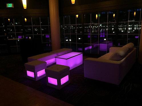 LED Cube Seat Rental