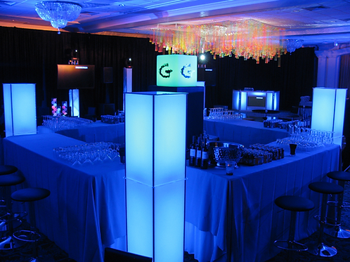 LED Column Rentals