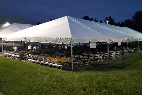 40 x 80 Frame Tent Rental