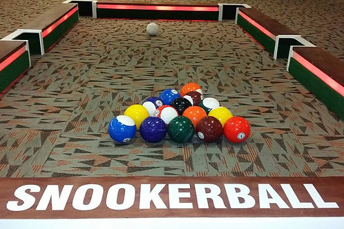 LED Giant Snooker Ball Pool Game Rental