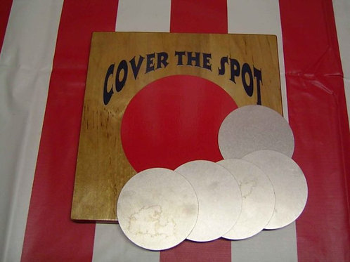 Cover The Spot Carnival Game Rental
