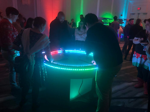 LED Air Hockey Game Rental