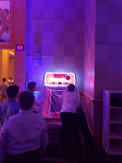 Double Shot LED Basketball Game Rental