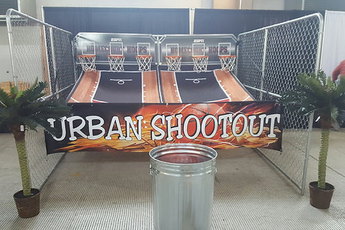 Basketball Hoop 6 Person Party Rental