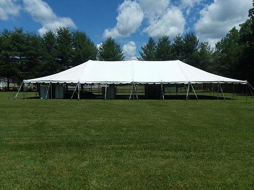 40 x 80 Pole Tent Rental