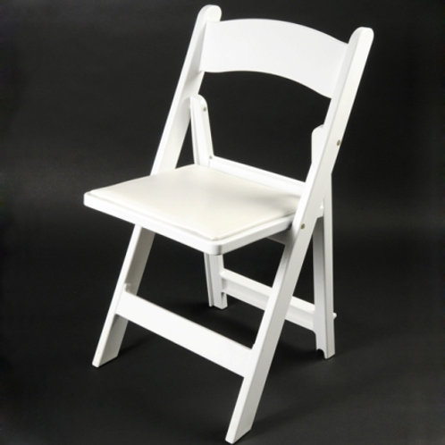 White Padded Chair Rental