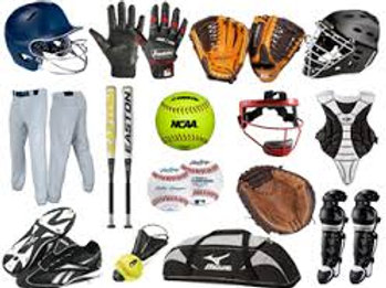Baseball Equipment Rentals