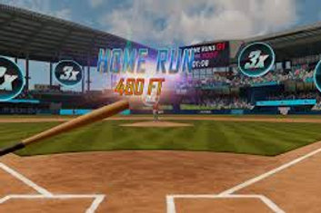 Virtual Reality Baseball Simulator Rental