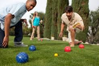 Bocce Ball Equipment Rentals