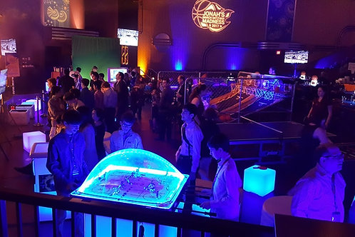 LED Dome Hockey Table Rental